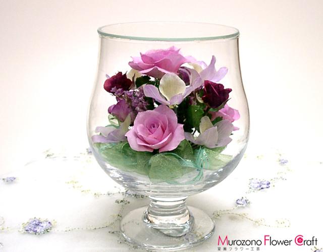 ボトルフラワーC-02グラスS(ピンク)